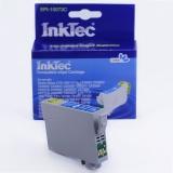Картридж для Epson TX210, CX7300, CX3900, TX410, CX4900, CX8300, TX219, TX200, CX5900, C79, TX400, T40W, TX550W, TX600FW, TX610FW, C110, совместимый синий InkTec EPI-10073C (T0732) Cyan