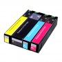 Картриджи для HP PageWide Pro 777z, 772dn, 750dw, Color 774dn, 755dn, 779dn (991X M0K02AE, M0J90AE, M0J94AE, M0J98AE, 991A) неоригинальные, одноразовые, стандартный объем, комплект 4 цвета