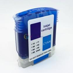 Картридж CG-C4907A (940 XL C4907AE) голубой для HP OfficeJet Pro 8000, 8500, 8500A, совместимый, Cyan, пигментный