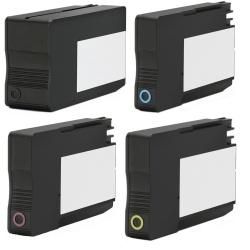 Комплект совместимых картриджей 953XL для HP OfficeJet Pro 8210, 8710, 7740, 7720, 8740, 8720, 8730, 7730, 8725, 8218, 8715, неоригинальные, 4 цвета, работают с прошивкой 2006, 2007