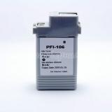 Картридж для Canon imagePROGRAF iPF6400, iPF6450, iPF6350, iPF6300 (PFI-106B), совместимый, неоригинальный, синий Blue, 130 мл