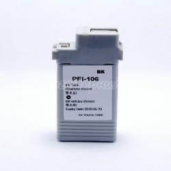 Картридж для Canon imagePROGRAF iPF6400, iPF6400S, iPF6400SE, iPF6450, iPF6350, iPF6300S, iPF6300 (PFI-106BK), совместимый, неоригинальный, фото чёрный Black, 130 мл