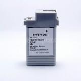 Картридж для Canon imagePROGRAF iPF6400, iPF6400S, iPF6400SE, iPF6450, iPF6350, iPF6300S, iPF6300 (PFI-106C), совместимый, неоригинальный, голубой Cyan, 130 мл