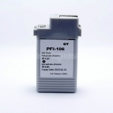 Картридж для Canon imagePROGRAF iPF6400, iPF6400S, iPF6450, iPF6350, iPF6300S, iPF6300 (PFI-106GY), совместимый, неоригинальный, серый Gray, 130 мл