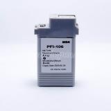 Картридж для Canon imagePROGRAF iPF6400, iPF6400S, iPF6400SE, iPF6450, iPF6350, iPF6300S, iPF6300 (PFI-106MBK), совместимый, неоригинальный, матовый чёрный Matte Black, 130 мл