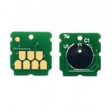 Чип для памперса к Epson L7160, L7180, Ecotank ET-7700, ET-7750, не обнуляемый, одноразовый (к ёмкости для отработанных чернил T04D0)