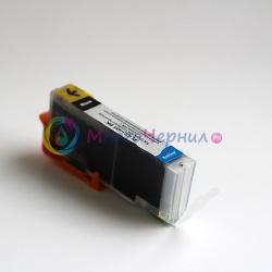 Картридж для Canon PIXMA iP7240, MG5640, MG5540, iX6840, MX924, MG7140, iP8740, MG5440, MG6340, MG6440 совместимый (CLI-451BK) PL-CLI-451BK фото черный, цвет Photo Black