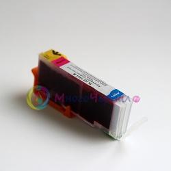 Картридж для Canon PIXMA iP7240, MG5640, MG5540, iX6840, MX924, MG7140, iP8740, MG5440, MG6340, MG6440 совместимый (CLI-451M) PL-CLI-451M пурпурный, цвет Magenta