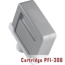 Картридж PFI-306Y для Canon imagePROGRAF iPF8400SE, iPF8400, iPF9400, Yellow, совместимый, 330 мл