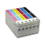 Перезаправляемые картриджи (ПЗК) с чернилами для Epson SureLab SL-D700 (совм. T7821-T7826), с чипами, на 5 полных заправок, 6 х 1 литр