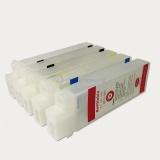 Перезаправляемые картриджи (ПЗК/ДЗК) для Canon imagePROGRAF iPF785, iPF780, iPF680, iPF685, комплект 5 штук