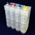 Перезаправляемые картриджи (ПЗК/ДЗК) для HP Designjet 510 (совм. HP 82), (короткий толстый корпус), 4 x 130 мл