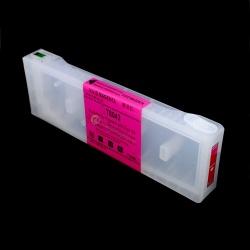 Перезаправляемый картридж (ПЗК/ДЗК) для Epson SureColor SC-P6000, SC-P7000, SC-P8000, SC-P9000, SC-P7000V, SC-P9000V + модели Spectro (T8243 / T8043 / C13T824300 / C13T804300), пурпурный Vivid Magenta, с чипом, 700 мл