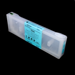 Перезаправляемый картридж (ПЗК/ДЗК) для Epson SureColor SC-P6000, SC-P7000, SC-P8000, SC-P9000, SC-P7000V, SC-P9000V + модели Spectro (T8245 / T8045 / C13T824500 / C13T804500), светло-голубой Light Cyan, с чипом, 700 мл