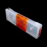 Перезаправляемый картридж (ПЗК/ДЗК) для Epson SureColor SC-P7000, SC-P9000, SC-P7000V, SC-P9000V + модели Spectro (T824A / T804A / C13T824A00 / C13T804A00), оранжевый Orange, с чипом, 700 мл