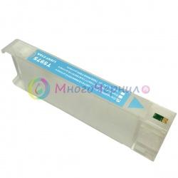 Перезаправляемый картридж (ПЗК) для Epson Stylus Pro 7700, 9700, 7890, 9890, 7900, 9900, Light Cyan, с пакетом, с чипом, 700 мл