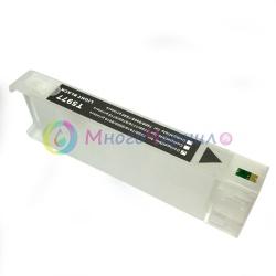 Перезаправляемый картридж (ПЗК/ДЗК) для Epson SureColor SC-P6000, SC-P7000, SC-P8000, SC-P9000, SC-P7000V, SC-P9000V + модели Spectro (T8241 / T8041 / C13T824100 / C13T804100), чёрный Photo Black, с чипом, 700 мл