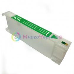 Перезаправляемый картридж (ПЗК) для Epson Stylus Pro 7700, 9700, 7890, 9890, 7900, 9900, Green, с пакетом, с чипом, 700 мл
