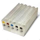 Перезаправляемые картриджи (ПЗК/ДЗК) для Epson SureColor SC-T3200, SC-T3000, SC-T5200, SC-T7000, SC-T7200, SC-T5000, с чипами и пакетом, 700 мл (совм. T6941-T6945), комплект 5 цветов