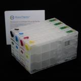 Перезаправляемые картриджи (ПЗК) для Epson WorkForce Pro WF-5110DW, WF-5620DWF, WF-4630DWF, WF-4640DTWF, WF-5190DW, WF-5690DWF (картриджи T7901-T7904, T7911-T7914), комплект 4 цвета с чипами