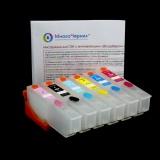 Перезаправляемые картриджи (ПЗК) для Epson Expression Photo XP-850, XP-860, XP-950, XP-960, XP-970, 6 цветов с чипами (под оригиналы T277, США)