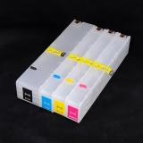 Перезаправляемые картриджи (ПЗК) для HP PageWide 377dw, 352dw, Pro 477dw, 452dw,  477dn, P55250dw, P57750dw (совм. 913A L0R95A, F6T77AE, F6T78AE, F6T79AE), с авто-чипами, увеличенный ресурс как 973X, комплект 4 цвета, версия 9, не требует отката прошивки