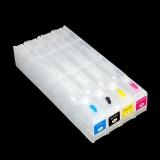 Картриджи ПЗК для HP OfficeJet PRO x451dw, x576dw, x476dw, x551dw, x476dn, x451dn, HP Officejet Enterprise X585z, Color X555dn, X585dn, X585f перезаправляемые (под оригиналы HP 970/971/980) без чипов, черный картридж - 85 мл