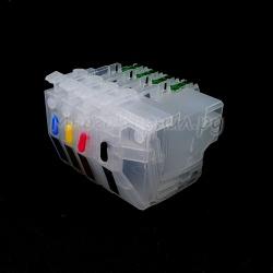 Перезаправляемые картриджи (ПЗК/ДЗК) для Brother MFC-J3930DW, MFC-J3530DW (LC3617, LC3619XL), с одноразовыми чипами, без ограничений по дате выпуска принтера