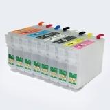 Набор картриджи ПЗК + чернила 8 x 100 мл для Epson SureColor SC-P400 (T3240-T3244, T3247-T3249)