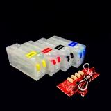 Перезаправляемые картриджи (ПЗК/ДЗК) для Epson ColorWorks TM-C3500, с декодером, 4 шт