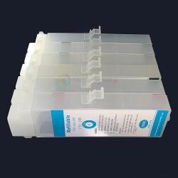 Перезаправляемые картриджи (ПЗК/ДЗК) для Canon imagePROGRAF iPF670, iPF770 (PFI-107, PFI-207), с чипами, комплект 6 штук