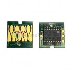 Чип для памперса к Epson SureColor SC-T3000, T5000, T7000, SC-T3200, T5200, T7200, авто-обнуляемый без ресеттера (для емкости с отработанными чернилами)