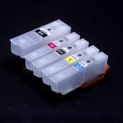 Перезаправляемые картриджи (ПЗК) для Epson Expression Premium XP (под оригиналы 410, США), с необнуляемыми чипами, 5 шт