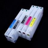 Перезаправляемые картриджи (ДЗК/ПЗК) для Epson Stylus Pro 7700 и 9700, 7710, 9710 с чипами и пакетом, 5 x 700 мл