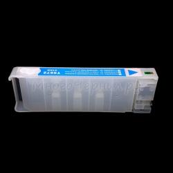 Перезаправляемый картридж (ПЗК/ДЗК) для Epson Stylus Pro 7700, 7890, 7900, 9700, 9890, 9900 (аналог T6362), без пакета, с чипом, голубой Cyan