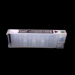 Перезаправляемый картридж (ПЗК/ДЗК) для Epson Stylus Pro 7700, 7890, 7900, 9700, 9890, 9900 (аналог T6368), без пакета, с чипом, матовый чёрный Matte Black
