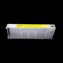 Перезаправляемый картридж (ПЗК/ДЗК) для Epson Stylus Pro 7700, 7890, 7900, 9700, 9890, 9900 (аналог T6364), без пакета, с чипом, жёлтый Yellow
