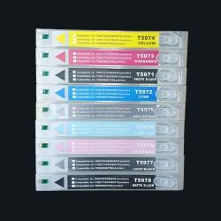 Перезаправляемые картриджи (ПЗК/ДЗК) для Epson Stylus Pro 7890 и 9890 (под картриджи T6361-T6369), с чипами, комплект 9 цветов по 700 мл