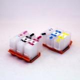 Перезаправляемые картриджи (ПЗК/ДЗК) для Epson Expression Photo HD XP-15000 (T3781-T3784 / T3791-T3794, T04F5-T04F6), с не обнуляемыми чипами, комплект 6 цветов
