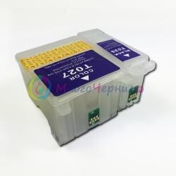 Перезаправляемые картриджи (ПЗК) для Epson Stylus Photo 810, 830, 830u, 925, 935 с чипами, 2 шт (T026, T027)