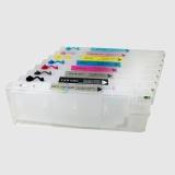 Перезаправляемые картриджи (ПЗК/ДЗК) для Epson Stylus Pro 4800, 220 мл., с чипами, комплект 8 штук