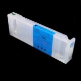 Перезаправляемый картридж (ПЗК) для Epson Stylus Pro 7700, 9700, 7890, 9890, 7900, 9900, Cyan, с пакетом, с чипом, 700 мл