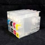 Картриджи для СНПЧ к HP Designjet T120, T125, T130, T520, T525, T530 (под HP 711), с чипами, комплект 4 цвета