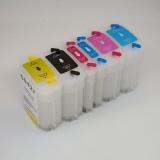 Перезаправляемые картриджи (ПЗК/ДЗК) для HP Designjet 130, 90, 130NR, 30 (под оригиналы HP 84 и 85), 4 x 69 + 2 x 28 мл
