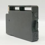Перезаправляемый картридж (ПЗК) для HP OfficeJet OJ 7110, 7510, 7612, 7512, 6700, 7610, 6100, 6600 (под HP 932 Black), тонкий чёрный, короткий, непрозрачный, с чипом