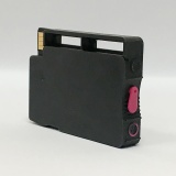 Перезаправляемый картридж (ПЗК) для HP OfficeJet OJ 7110, 7510, 7612, 7512, 6700, 7610, 6100, 6600 (под HP 933 Magenta), пурпурный, короткий, непрозрачный, с чипом