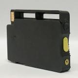 Перезаправляемый картридж (ПЗК) для HP OfficeJet OJ 7110, 7510, 7612, 7512, 6700, 7610, 6100, 6600 (под HP 933 Yellow), жёлтый, короткий, непрозрачный, с чипом