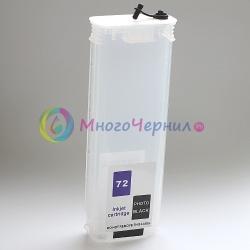 Перезаправляемый картридж без чипа для T830, T730, T920, T2530, T2500, T930, T1530, T1500, T3500 (comp. HP 727, 728), 260 мл, 1 штука