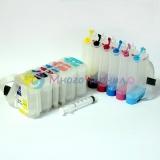 СНПЧ для HP Designjet 120, 10, 20, 50 (под картриджи HP 84, 82, 11), 6 цветов