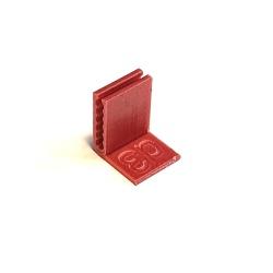Угловой держатель-зажим для шлейфа СНПЧ d3, 1 штука
